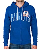 Mens New England Patriots Sunday Hoodie by Junk Food