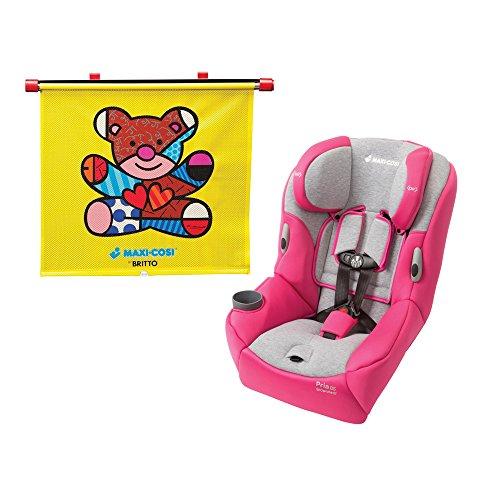 Maxi Cosi Pria 85 Convertible Car Seat, Passionate Pink With Britto Bear Sunshade