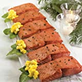 Wild Alaskan Keta Salmon: 6 Oz Dinner Fillets (Six 6 oz dinner fillets)