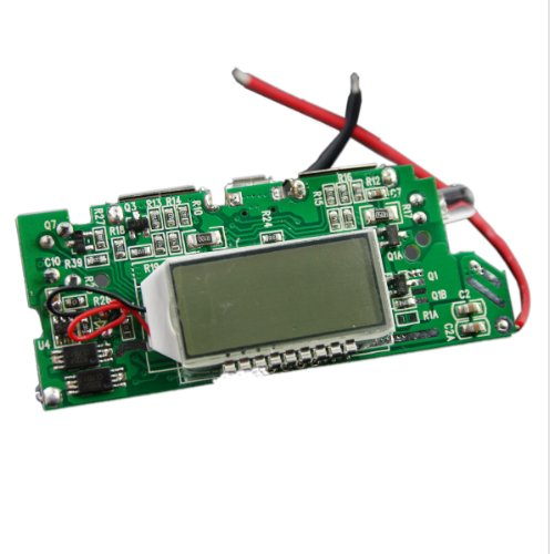 """Generic Diy 1.2"""" Lcd Dual-Usb Output 5V Boost Pcb Module Led For Mobile Power"""