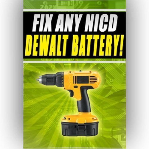 51iVGB6ADVL Fix Any NICD Dewalt Battery dw981 dw985kv 2 dw008k 18v 12v 24v
