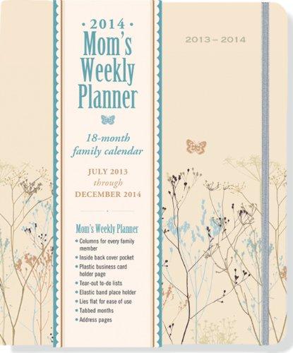 2014 Butterflies Mom's Weekly Planner (18-Month Calendar, Family Calendar, Diary)