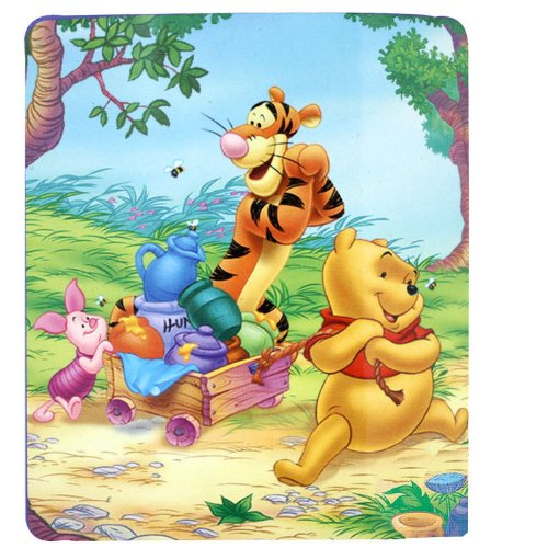 Cheapest Price! Winnie the Pooh Sweet Summer Day Fleece Throw Blanket