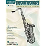 Ballads: Play-Along Solos for Tenor Sax (Instrumental Folio) Bk/online audio