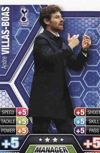 Match Attax 2013/2014 Andre Villas-Boas Tottenham 13/14 Manager