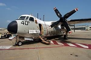 C 2a Greyhound Logistics Aircraft Amazon.com: Photo A le...