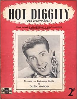 Diggity (Dog Ziggity Boom) (Sheet Music) (Cover Photo of Perry Como