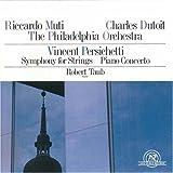 Persichetti: Symphony No. 5; Piano Concerto