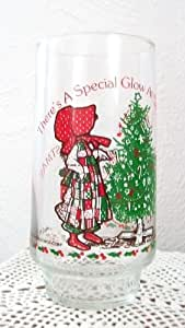 Merry Christmas Holly Hobbie Limited Edition Collectible Glass