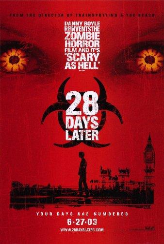 28 Days Later Poster B 27x40 Alex Palmer Bindu De Stoppani Jukka Hiltunen