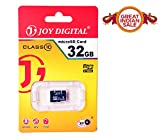 #9: Joy 32 GB Micro SDHC Class 10 Micro SD Card, Ideal Upgrade for portable electronic devices, such as digital cameras, mobile phones, laptop, computers, tablets, PDAs, MP3 players, video game consoles, synthesizers, and electronic keyboards - JOY-MMC-32GB-BLACK