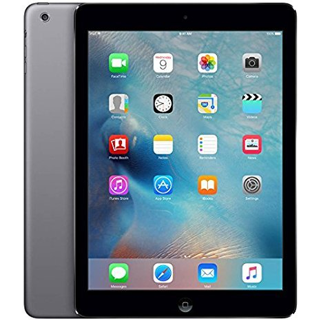 Apple iPad Air A1474 (32GB, Wi-Fi, Black with Space Gray) (Certified Refurbished) (Ipad Air 32gb compare prices)