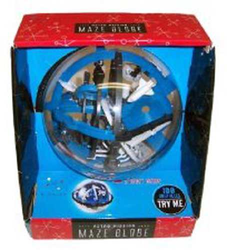 1 X Astro Mission Maze Globe By Blakjax W/100 Obstacles