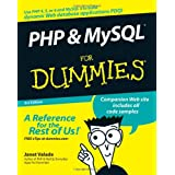 PHP and MySQL For Dummiesby Janet Valade