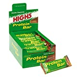 High 5 Banana and Vanilla Protein Bar 50g Pack of 25
