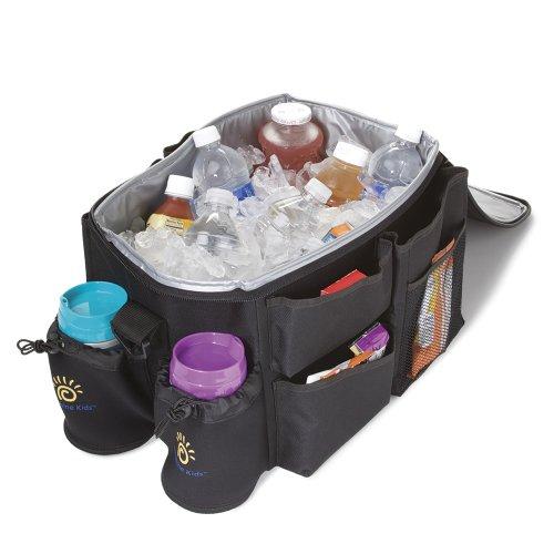 car child seat sunshine kids organizer and cooler black car child seats. Black Bedroom Furniture Sets. Home Design Ideas
