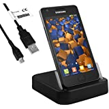 mumbi USB Dock Samsung Galaxy S4 / S3 / S2 Dockingstation Ladestation mit Datenkabel