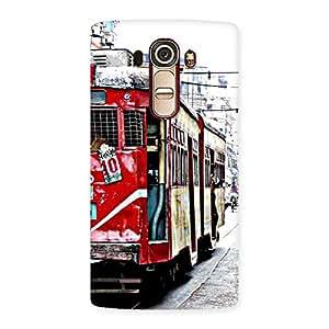 Cute Kolkatta Multvcolore Back Case Cover for LG G4