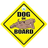 Dog On Board, Dog On Board Sign, Dog On Board Car Sign, Dog in Car Sign, Baby on Board, Decal, Puppy, Dog Vehicle Sign, Dog In Car Sign, Cannine Car Sign, Bumper Sticker, Beware of the dogby DRIVING iwantthatsign.com