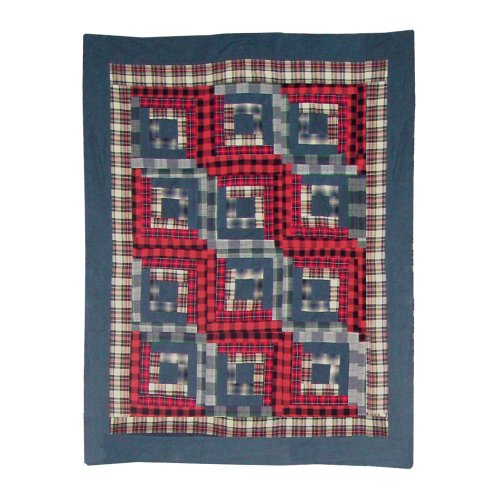 Quilts Discount Patch Magic 36 Inch By 46 Inch Red Log