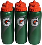 Gatorade 32oz Squeeze Water Bottle, Pack of 6