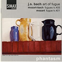 Johann Sebastian Bach: Art Of Fugue