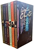 Agatha Christie Hercule Poirot Classic Mysteries 6 Books Collection Box Set (Hickory Dickory Duck, Sad Cypres, Death in the Clouds, The Clocks, The Mystery of the Blue Train, The Murder on the Lin) (Hercule Poirot)