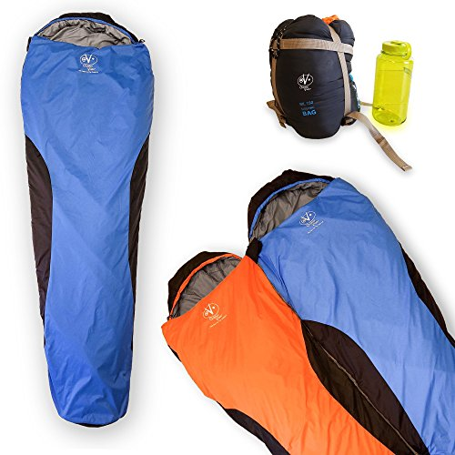 Outdoor Vitals OV-Light 35 Degree 3 Season Mummy Sleeping Bag, Lightweight, Backpacking, Ultra Compactable, Hiking, Camping, Lifetime Limited Warranty (Micro Sleeping Bag compare prices)