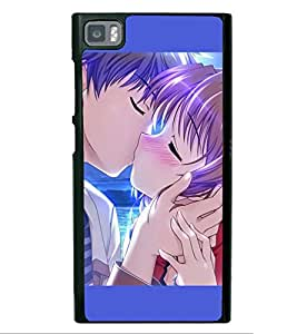Love Couple 2D Hard Polycarbonate Designer Back Case Cover for Xiaomi Redmi Mi3
