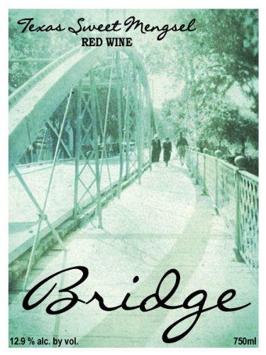 Nv Bridge Sweet Mengsel Red Blend, Texas 750 Ml