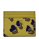 Gucci Heartbeat Yellow Leather Card Case Wallet 334483