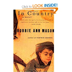 a review of bobbie ann masons novel in country In the summer of 1984, the war in vietnam came home to sam hughes, whosefather was killed there before she was born the soldier-boy in the picture never changed.