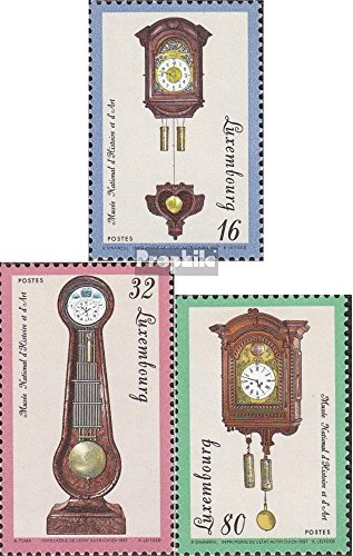 Luxembourg 1426-1428 (complete.issue.) unmounted mint / never hinged 1997 wall- and clocks (Stamps for collectors)