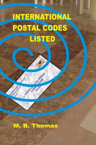 International Postal Codes Listed: countries' zip codes