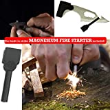 12-in-1-Pocket-Survival-Card-Tool-w-2-Rescue-Whistles-and-Magnesium-Fire-Starter-Compact-Credit-Card-Size-Multitool-Ideal-for-Camping-Hiking-Outdoors-Signaling-or-Life-Emergencies