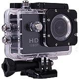 WINUP® XTC-PRO Caméra sport étanche d'action Full HD 12MP type GoPro (Caméra embarquée, sportive, pour casque, mini camescope haute définition 1080P pour sports extrêmes)