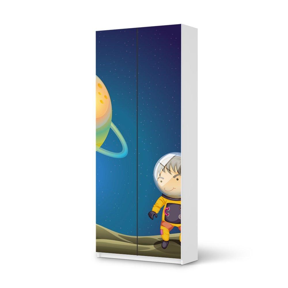 Folie IKEA Pax Schrank 236 cm Höhe – 2 Türen / Design Aufkleber Young Explorer / Dekorationselement günstig bestellen
