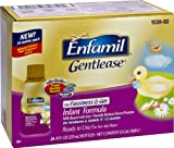 Enfamil Gentlease Infant Formula for Fussiness and Gas, Ready to Use, 8 Ounce, 24 Count