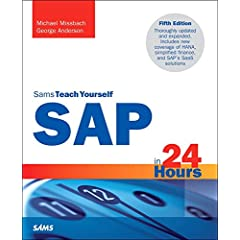 Sams Teach Yourself SAP in 24 Hours, 5th Edition from Sams Publishing