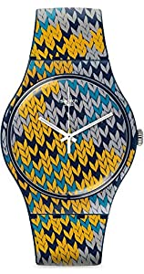Swatch SUON110 New Gent Summer Socks Watch