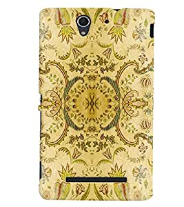 Sony Xperia C3 MULTICOLOR PRINTED BACK COVER FROM GADGET LOOKS