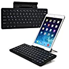 Cooper Cases(TM) K2000 Toshiba Excite (AT200) / 10 (AT305) / 13 (AT335) Bluetooth Keyboard Dock in Black (US English QWERTY Keyboard, 78 Laptop-Style keys, Built-in Viewing Stand, Android / iOS / Windows compatible)