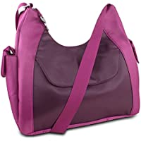Travelon Oversized Hobo-Style Bag with RFID Protection - Multiple colors