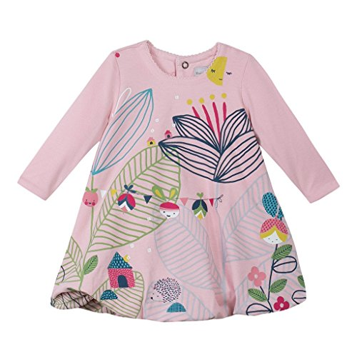 Catimini CI30211 - Pop Pink Garden Dress vestito bimba 2 anni