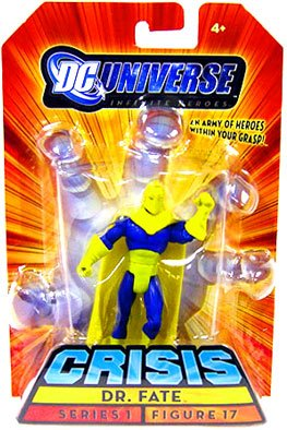 Buy Low Price Mattel DC Universe Infinite Heroes Dr Fate Figure (B001ACNWS4)