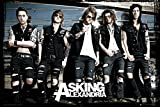 Asking Alexandria - bus - Official Poster - 36 x 24 inches