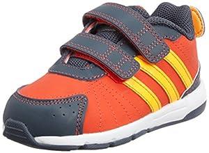 Adidas - Adidas Snice 3 CF I Scarpe Bambino Arancio Pelle Strappi M20085 - Naranja, 20