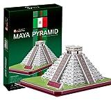 3D立体パズル カスティーヨ マヤ文明ククルカンの神殿