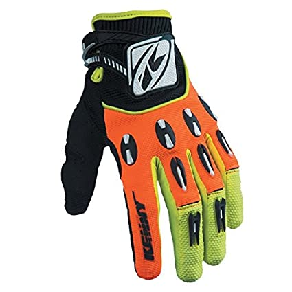 Kenny Motocross Gants - Titane - orange fluo