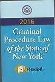 Criminal Procedure Law: N.Y.S. Certified